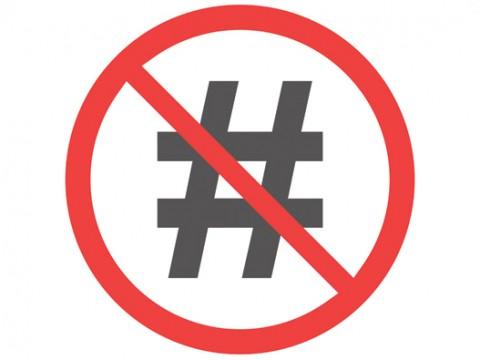 Hashtag-post